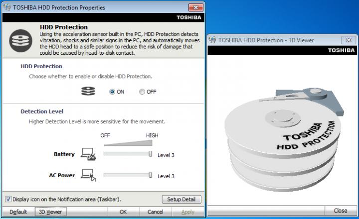to hdd 720x440 Review : Toshiba Satellite E300
