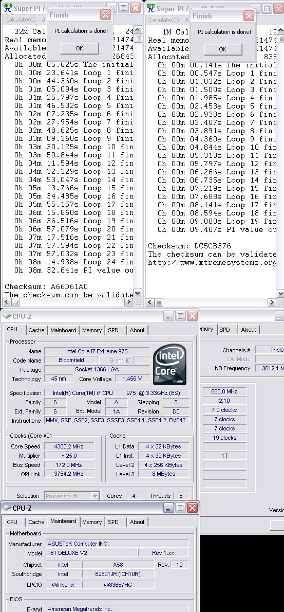 32m1 4300 Intel® Core™ i7 975 Extreme Edition : First Review