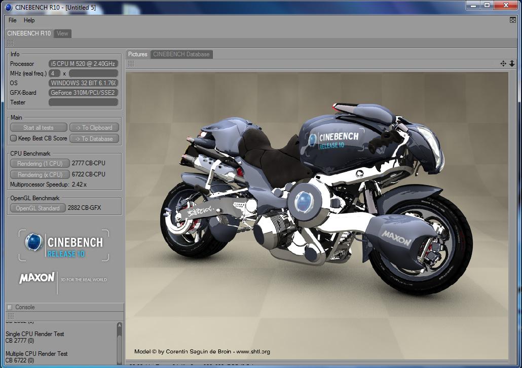 cb10 Review : Acer Aspire 4740G (Core i5 520)