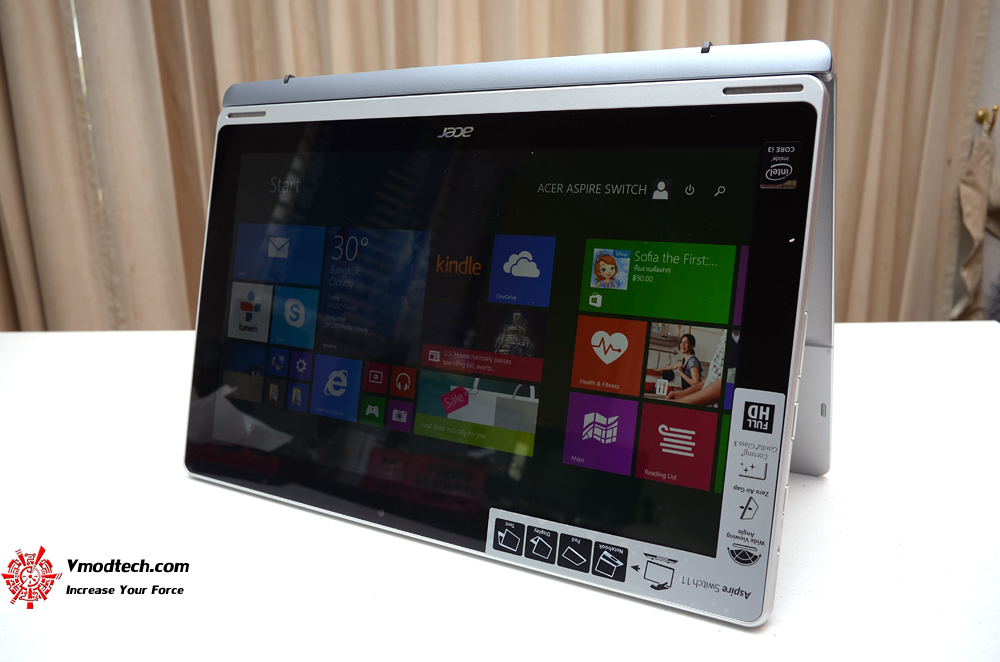 13 Review : Acer Aspire Switch SW5 171