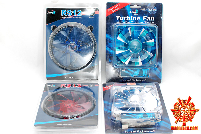 1 Review :  Aerocool Turbine & Aerocool RS12 12cm fan