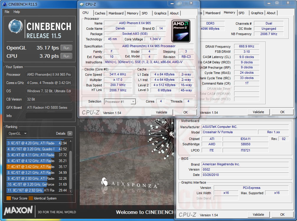 cb115 2 AMD Phenom II X6 1090T & Leo Platform : For Mega tasking performance !