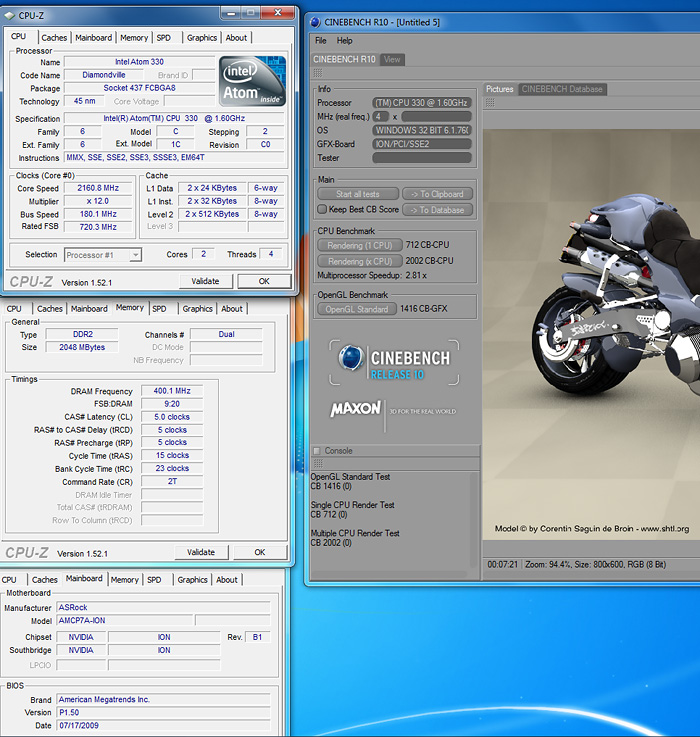 cb10 Review : ASRock ION330 พลัง Atom Dualcore + nVidia ION