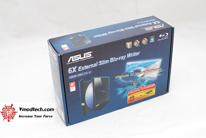 1 Review : Asus External Slim 6X Blu Ray Writer
