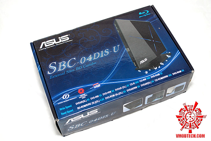 1 Review : Asus SBC 04D1S U External Blu Ray Combo Drive