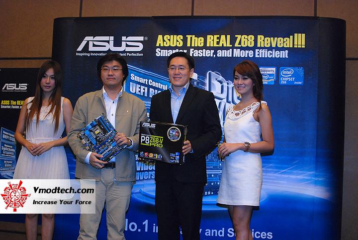 1 แถลงข่าว พร้อม เปิดตัวเมนบอร์ดชิป Z68 ล่าสุดจาก Asus