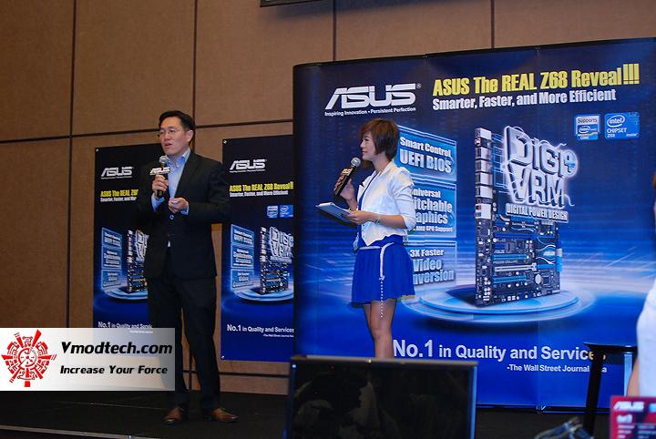 2 แถลงข่าว พร้อม เปิดตัวเมนบอร์ดชิป Z68 ล่าสุดจาก Asus