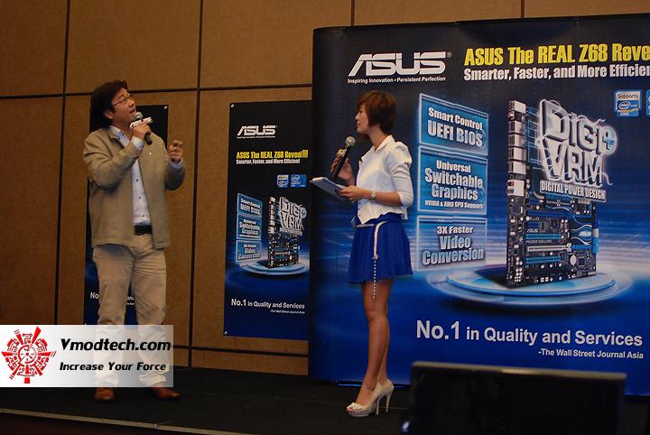 3 แถลงข่าว พร้อม เปิดตัวเมนบอร์ดชิป Z68 ล่าสุดจาก Asus