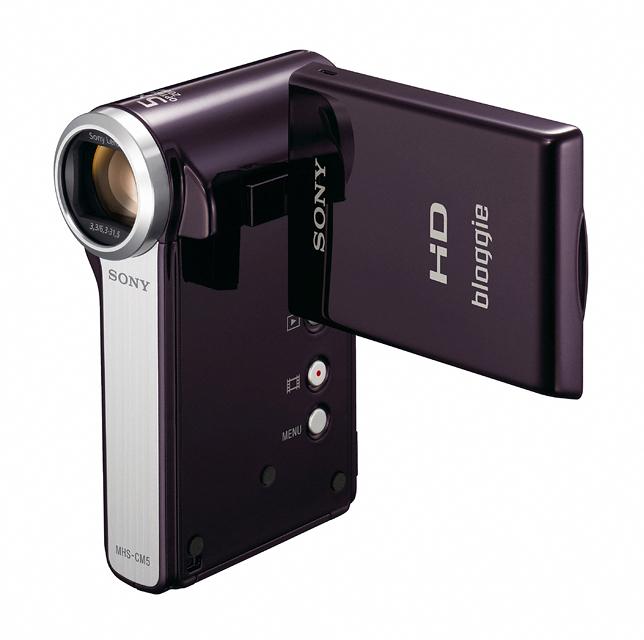 21 เปิดตัว Sony Bloggie กล้องวีดีโอ HD MP4 จิ๋วใหม่จากโซนี่