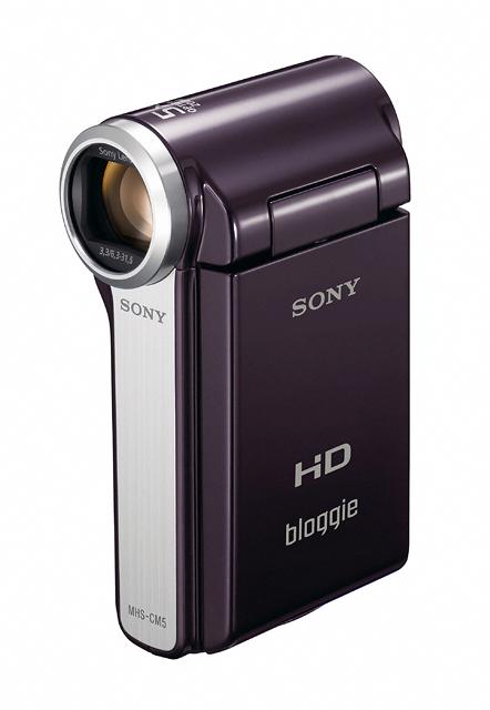 22 เปิดตัว Sony Bloggie กล้องวีดีโอ HD MP4 จิ๋วใหม่จากโซนี่