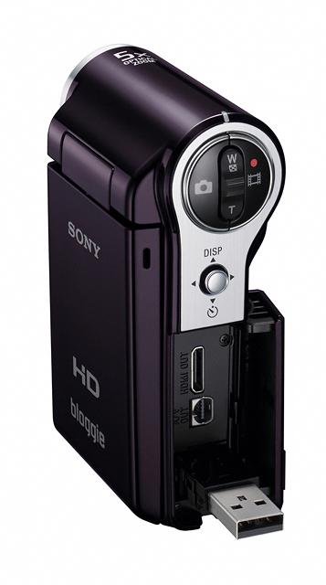 24 เปิดตัว Sony Bloggie กล้องวีดีโอ HD MP4 จิ๋วใหม่จากโซนี่