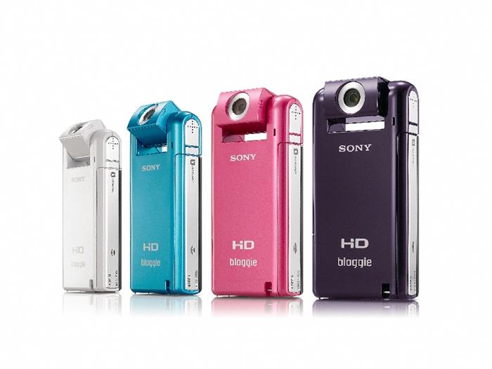25 เปิดตัว Sony Bloggie กล้องวีดีโอ HD MP4 จิ๋วใหม่จากโซนี่