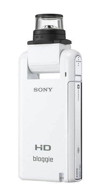 27 เปิดตัว Sony Bloggie กล้องวีดีโอ HD MP4 จิ๋วใหม่จากโซนี่