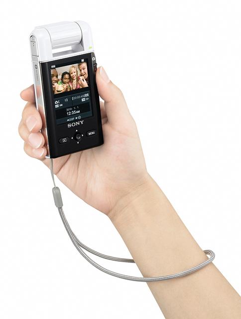 28 เปิดตัว Sony Bloggie กล้องวีดีโอ HD MP4 จิ๋วใหม่จากโซนี่