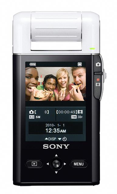 30 เปิดตัว Sony Bloggie กล้องวีดีโอ HD MP4 จิ๋วใหม่จากโซนี่