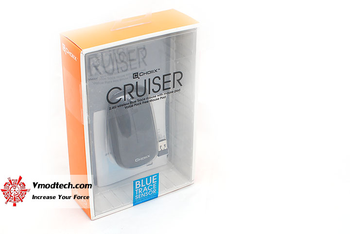 1 Review : CHOIIX Cruiser Blue Trace sensor Wireless Mouse