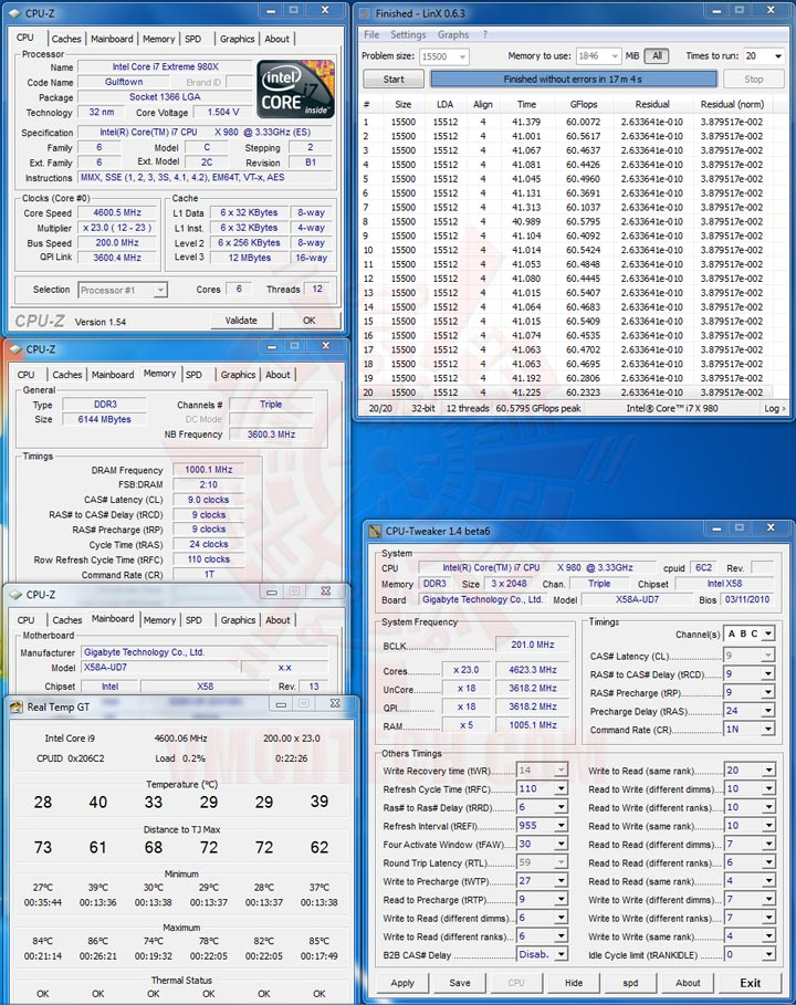 setup PALIT GTX 470 1280MB DDR5 Overclocking Review