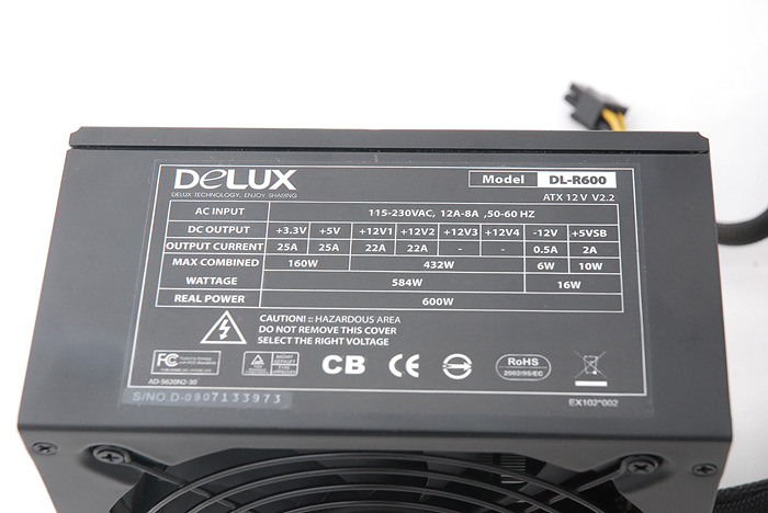 5 Delux DL R600 600watt PSU Review
