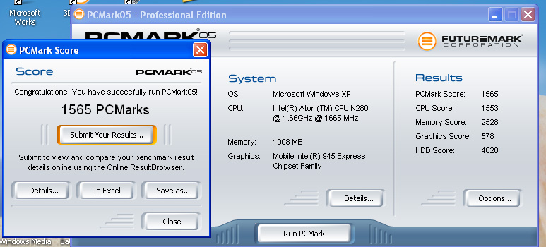 pcm05 Review : Asus Eee PC 1008ha