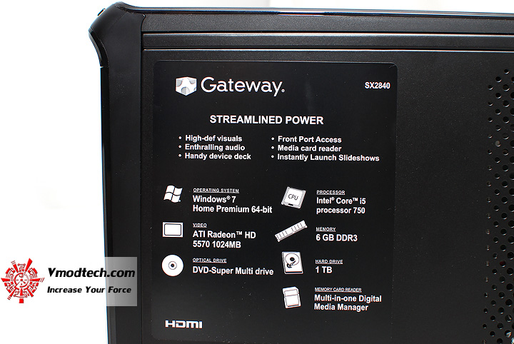 6 Review : Gateway SX2840 Desktop PC