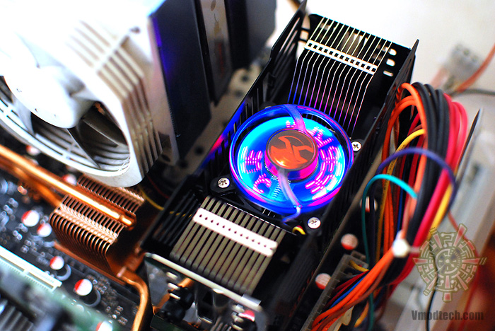 8 Review : GEIL CYCLONE Memory Cooling