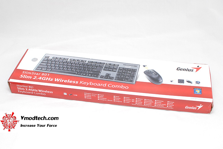 1 Review : Genius SlimStar 801 Wireless keyboard combo set
