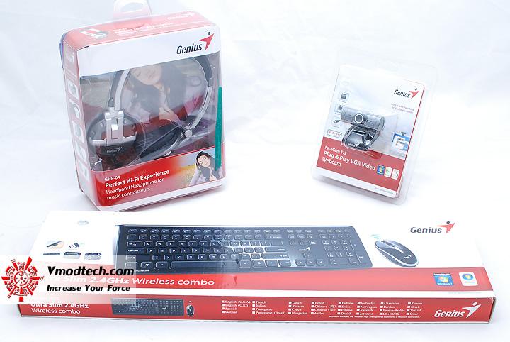 1 Combo Review Accessories สำหรับ PC เครื่องใหม่จาก Genius