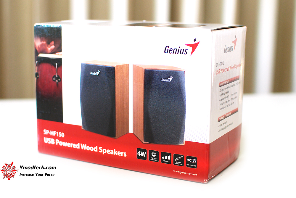 Review: Genius SP HF150 USB Powered Wood Speakers
