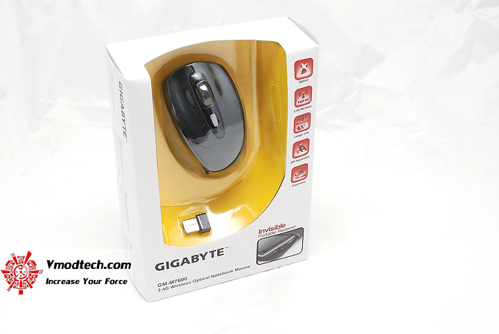 1 Review Gigabyte GM M7600 Wireless Optical Mouse