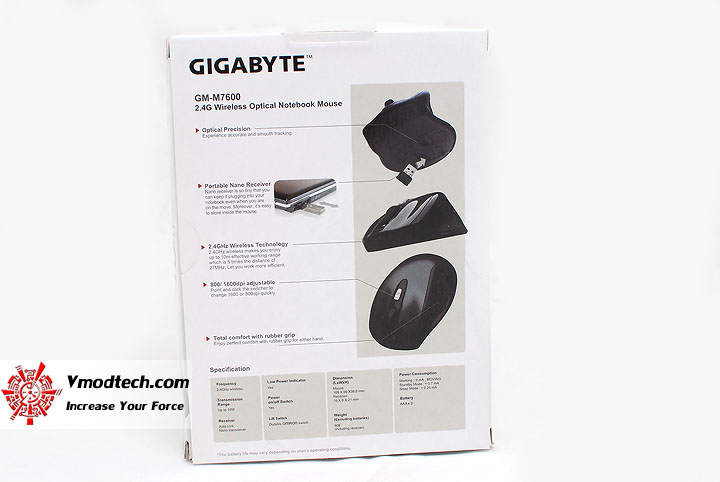2 Review Gigabyte GM M7600 Wireless Optical Mouse