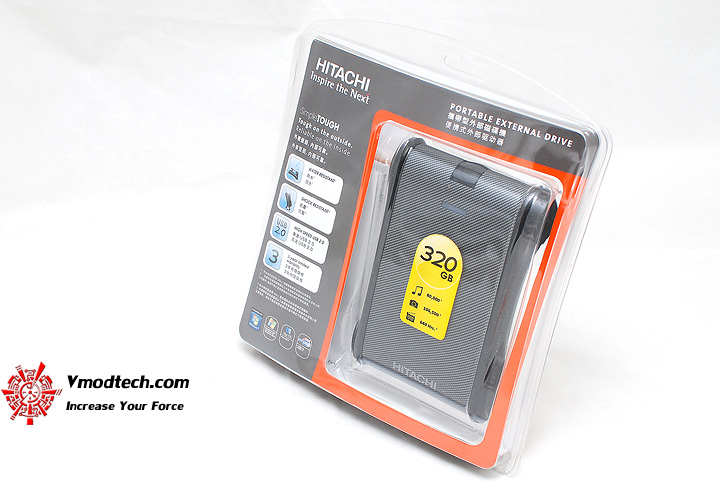 1 Review : Hitachi SimpleTough Portable Drive 320gb