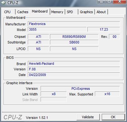 cpuz1 Review : HP Pavilion DV2