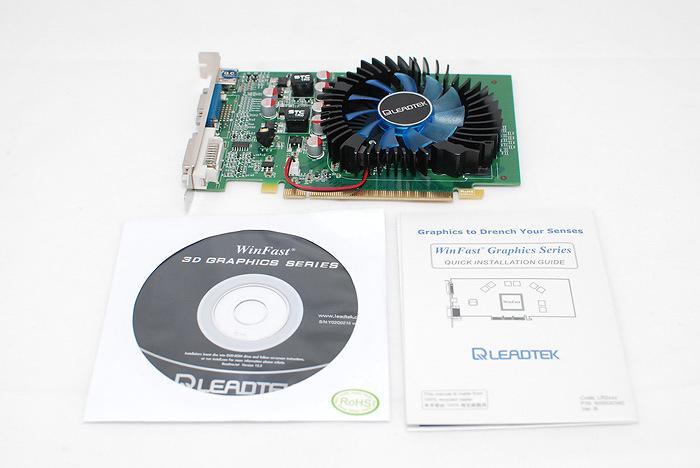 8 Review : Leadtek Winfast GT220 1024mb