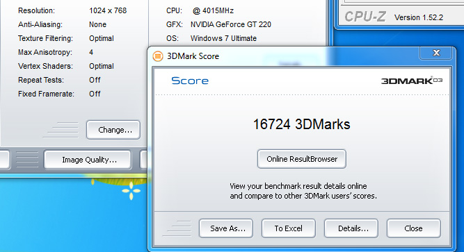 03r Review : Leadtek Winfast GT220 1024mb