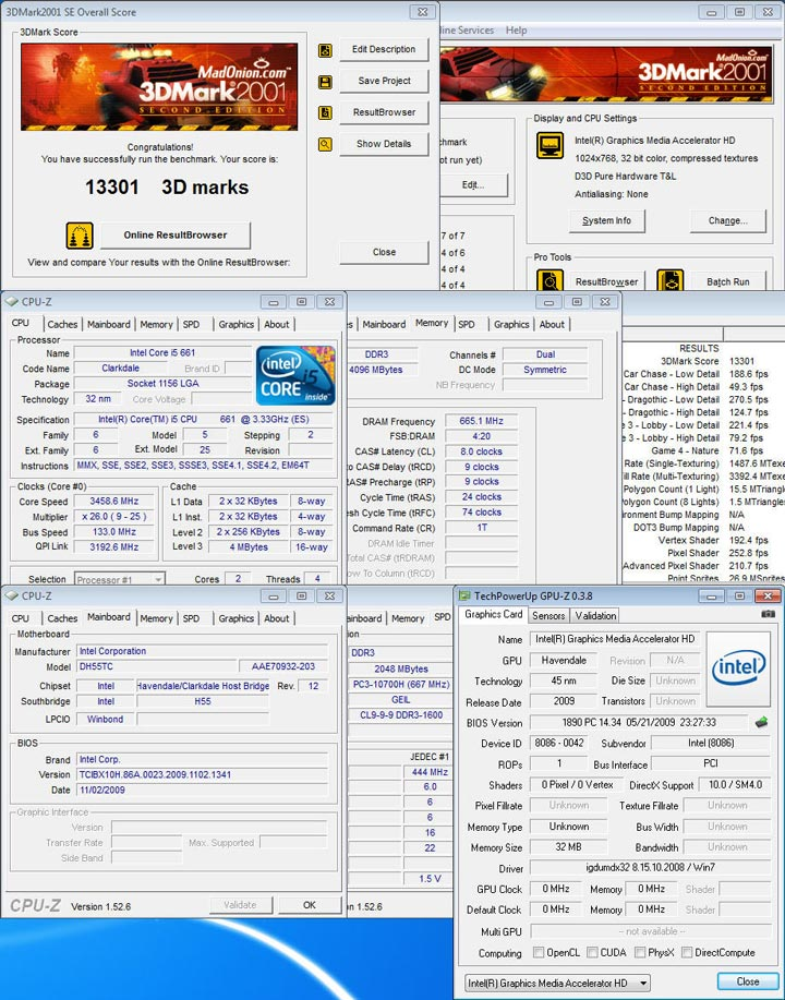 01 New Intel Core i5 Westmere CPU integrated graphics platform