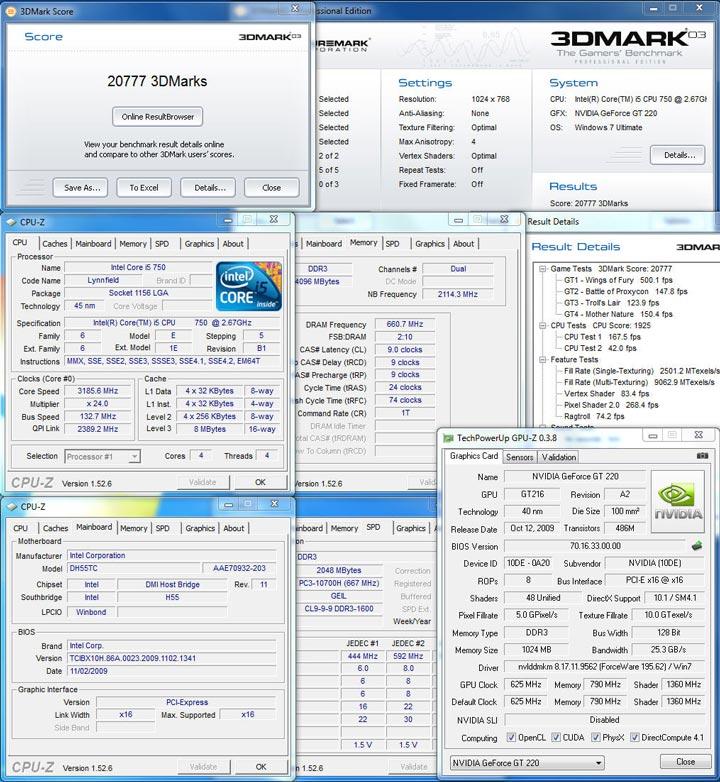 03 750 New Intel Core i5 Westmere CPU integrated graphics platform