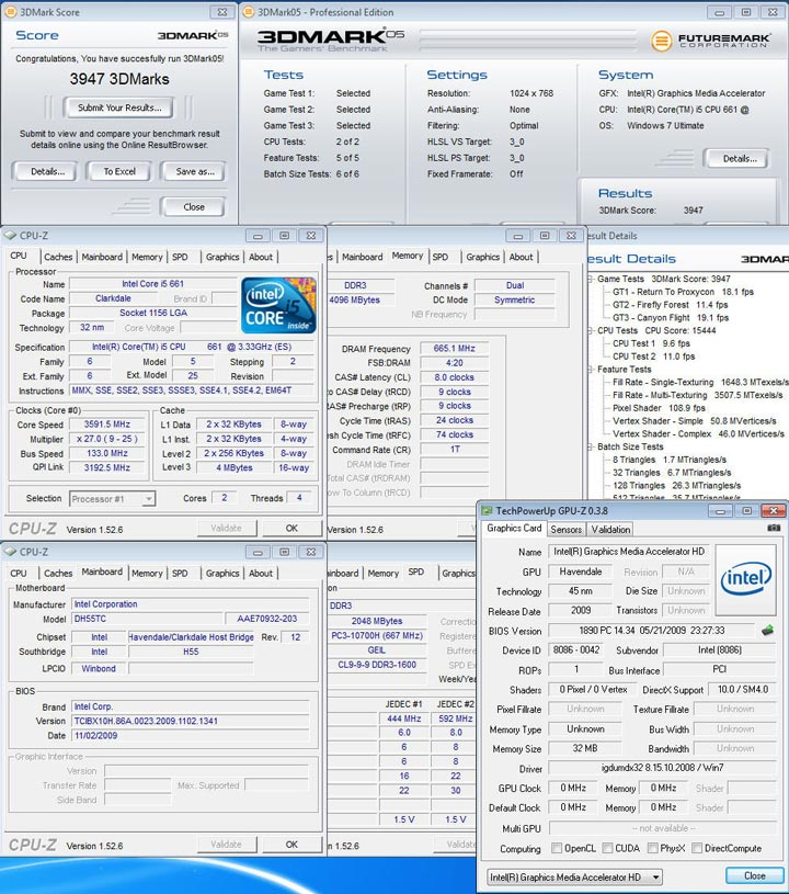 05 New Intel Core i5 Westmere CPU integrated graphics platform