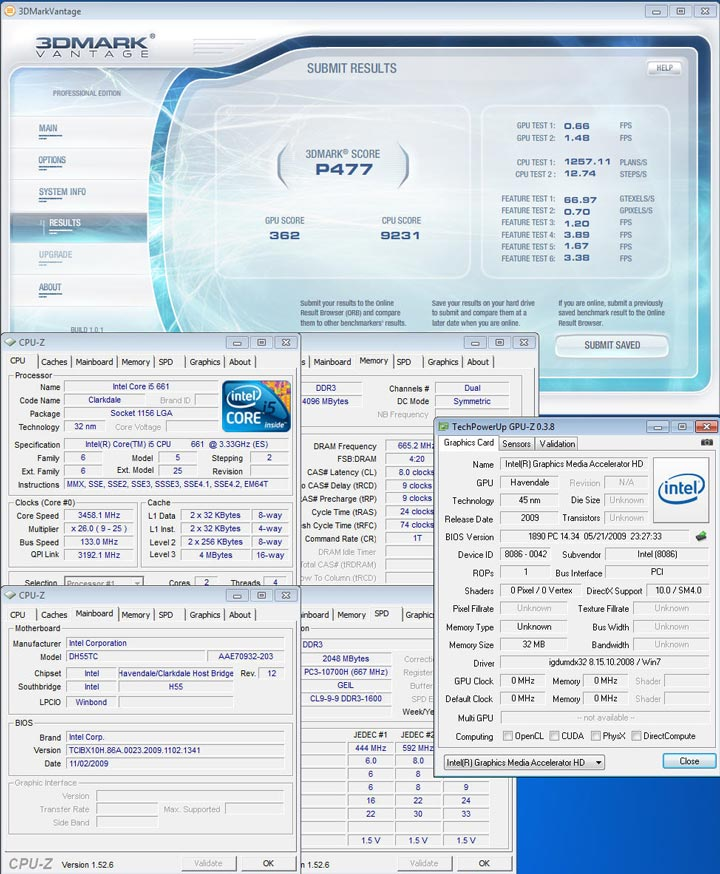 07 New Intel Core i5 Westmere CPU integrated graphics platform