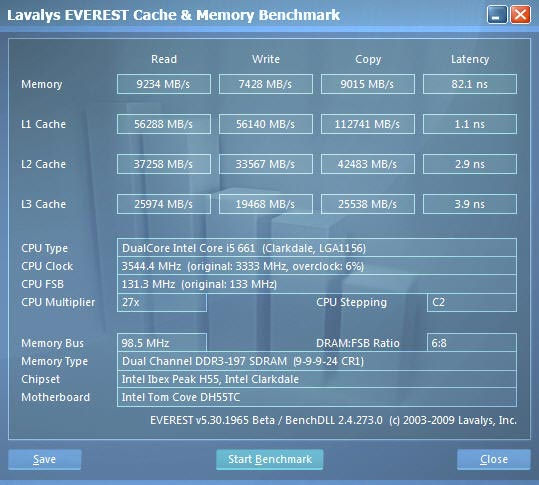 ev1 New Intel Core i5 Westmere CPU integrated graphics platform