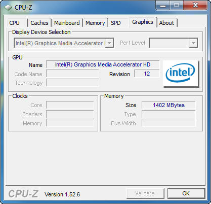 cpuz6 New Intel Core i5 Westmere CPU integrated graphics platform