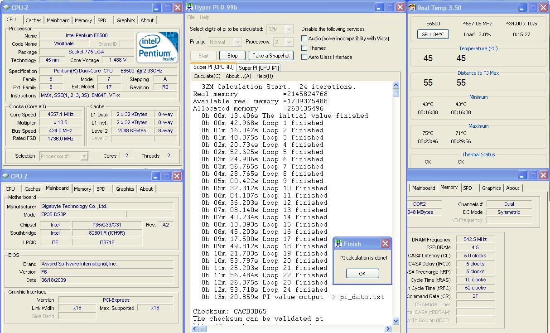 22 ทดสอบ Intel Pentium Dual Core E6500 สไตล์สารคาม !