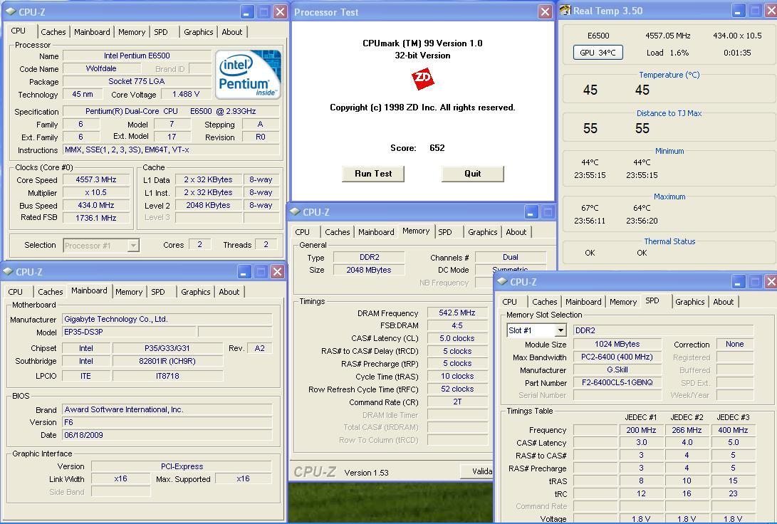 25 ทดสอบ Intel Pentium Dual Core E6500 สไตล์สารคาม !
