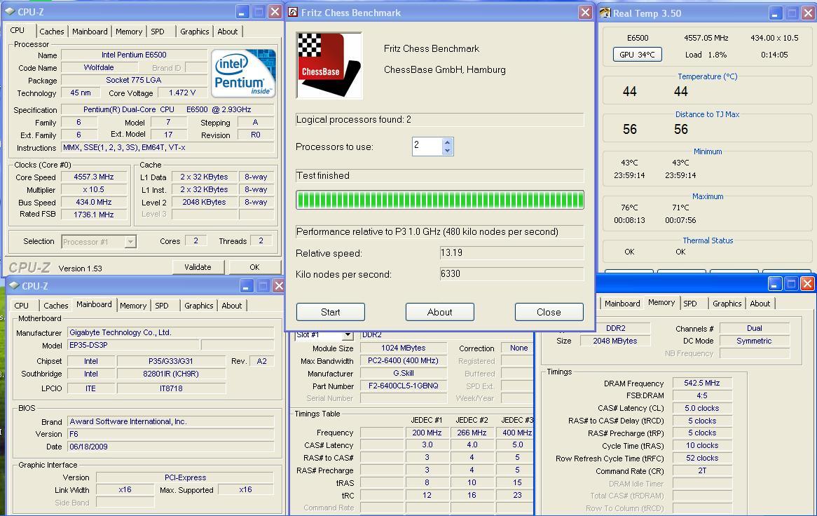 26 ทดสอบ Intel Pentium Dual Core E6500 สไตล์สารคาม !