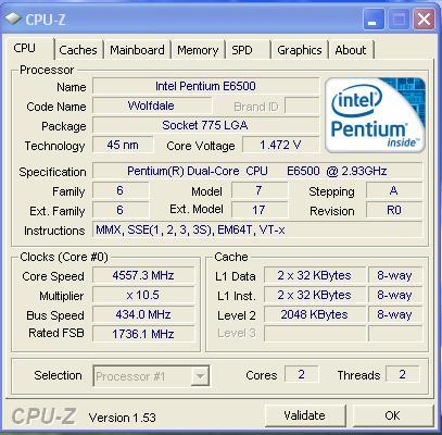 6 ทดสอบ Intel Pentium Dual Core E6500 สไตล์สารคาม !