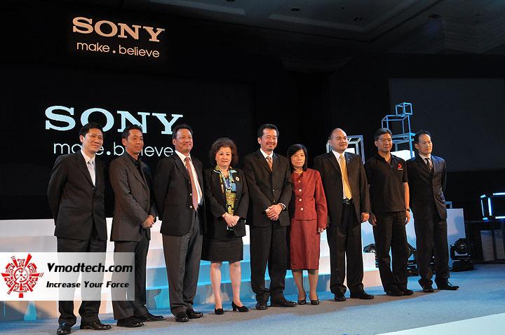 1 ภาพบรรยากาศงานแถลงทิศทางธุรกิจ และกลยุทธการตลาด  Sony ปี พ.ศ.2553