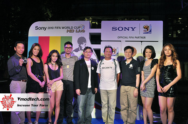 1 ภาพเด็ดจากงาน Sony 2010 FIFA World Cup HD Live Exclusive Party