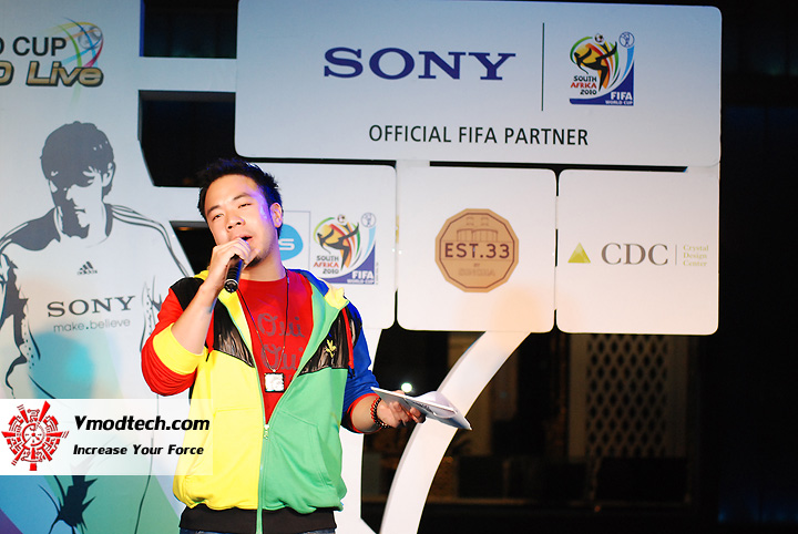 22 ภาพเด็ดจากงาน Sony 2010 FIFA World Cup HD Live Exclusive Party