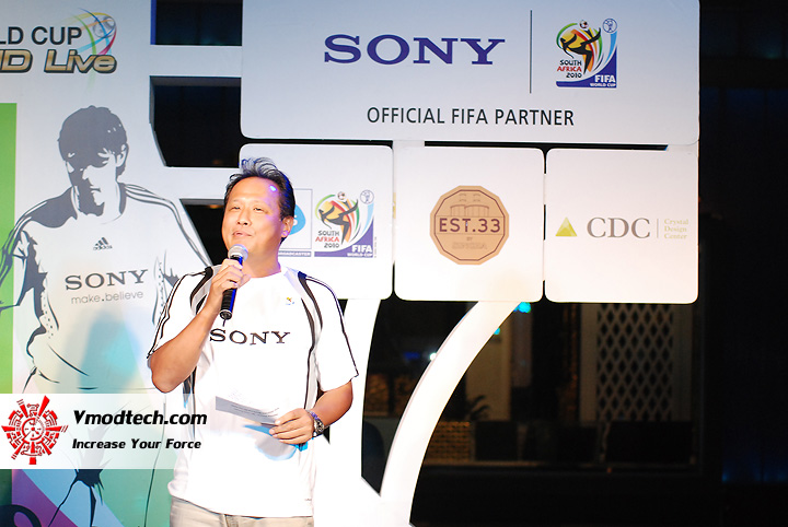 23 ภาพเด็ดจากงาน Sony 2010 FIFA World Cup HD Live Exclusive Party
