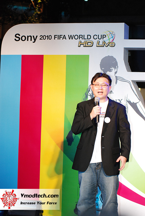 25 ภาพเด็ดจากงาน Sony 2010 FIFA World Cup HD Live Exclusive Party