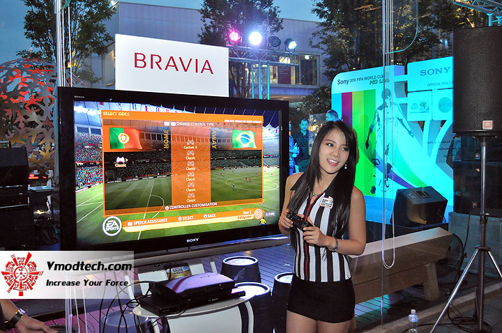 3 ภาพเด็ดจากงาน Sony 2010 FIFA World Cup HD Live Exclusive Party